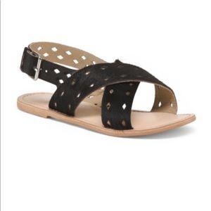 Matisse haircalf sandals NWT